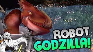 "Spore Modded Gameplay - ""ROBOT GODZILLA!!!"" Walkthrough Let"