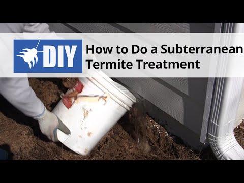Video How To Do a Subterranean Termite Treatment