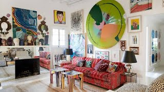 Beautiful Bright Boho Eclectic House ▸ Interior Design