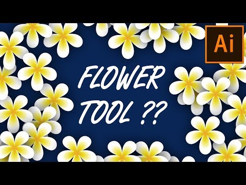 Create Fully Editable Flower within a minute | Adobe Illustrator Tutorial for Beginners