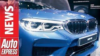 2018 BMW M5 roars into Frankfurt with 592bhp | Kholo.pk
