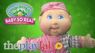 Cabbage Patch Kids Baby So Real Doll