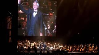Tristeza- canta Andrea Bocelli- Allianz Parque- São Paulo