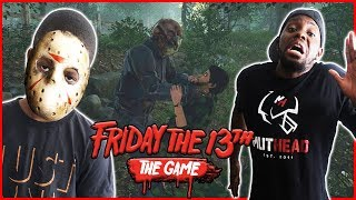 TRENT IS THE KILLER! AND HE'S COMING FOR ME! - Friday The 13th Funny Moments Gameplay
