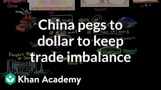 China Pegs to Dollar to Keep Trade Imbalance