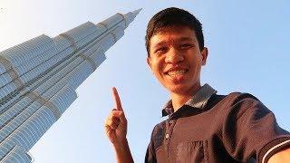 ตึกที่สูงที่สุดในโลก | The Tallest Building in The World (Burj Khalifa in Dubai)