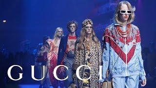 #2-Gucci Spring Summer 2018 Fashion Show