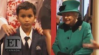 Queen Elizabeth Scares Away Child