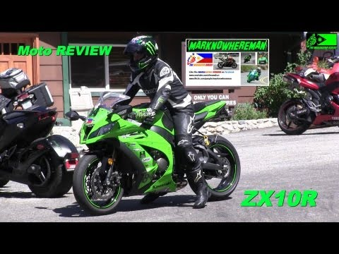 Kawasaki NINJA ZX10R with Yoshimura exhaust - Canyon Ride & my REVIEW
