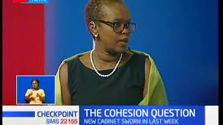 Marilyn Kamuru: Tuju's position might as well make the total number of CSs 25