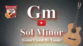 How To Play Gm Chord On Guitar | Sol Minor Akoru Gitarda Nasıl Basılır ?