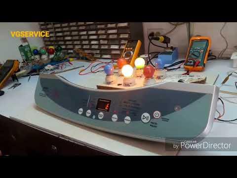 Reparación de tarjeta Lavadora Haier XQB100-9188