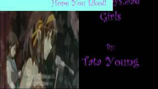 TMoHS - Bad Boys, Sad Girls