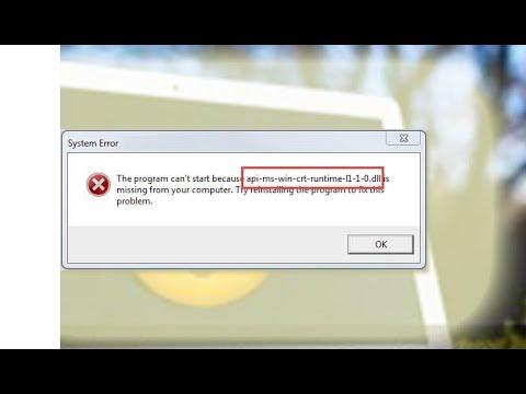 api-ms-win-crt-runtime-l1-1-0.dll free download 64 bit