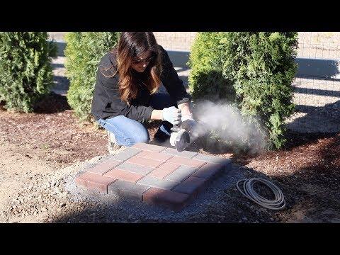 Brick Pathway Tour + New Concrete! 🤩// Garden Answer