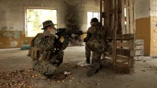 preview picture of video '3# ARMO- PART2 - Spieltag in Plessa GER - Airsoft Match - Masada,SCAR,M4,M249,M9'