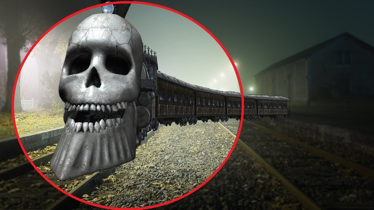 5 REAL GHOST TRAIN CAUGHT ON CAMERA  SPOTTED IN REAL LIFE! ViralTop7TH Фото 3
