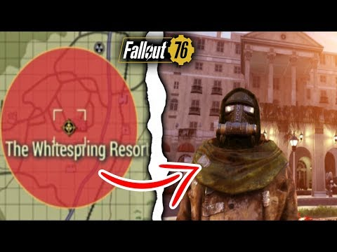 Fallout 76 | What Happens if You Nuke WhiteSprings Resort in Survival? (Fallout 76 Secrets)