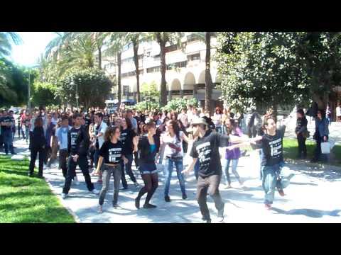 Flashmob Atrévete DPE Alicante 2010