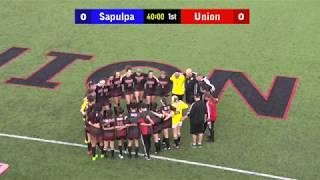 GIRLS Sapulpa vs Union