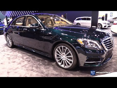 2017 Mercedes Benz S Class S 550 Sedan - Exterior and Interior Walkaround - 2017 Chicago Auto Show