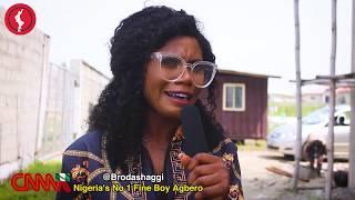 Brodashaggi beats auntyshaggi cos she insulted him