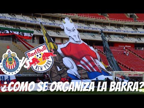 """""""EL TIFO DE CHIVAS - LES MUESTRO LA ORGANIZACIÓN DESDE LA CANCHA DEL ESTADIO AKRON CHIVAS VS NEW YOR"""" Barra: La Irreverente • Club: Chivas Guadalajara"""