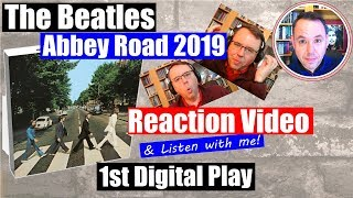 Reaction to Beatles Abbey Road 2019 Remix 1st Play