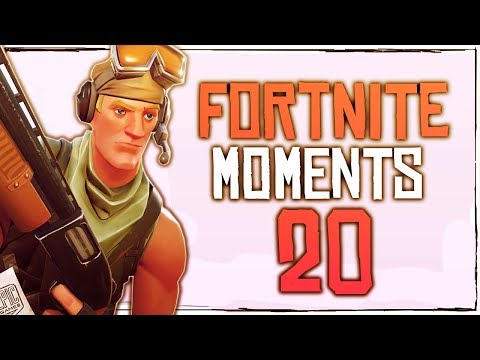 Fortnite Battle Royale WTF & Funny Moments Episode. 20