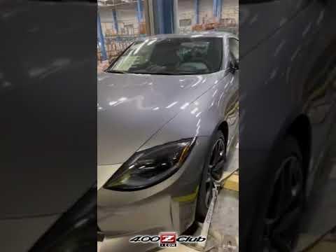 リークされた新型フェアレディZの動画。量産仕様の新型日産フェアレディZがリーク