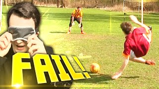 FIFA 15 BLINDFOLD FOOTBALL PENALTIES!!!