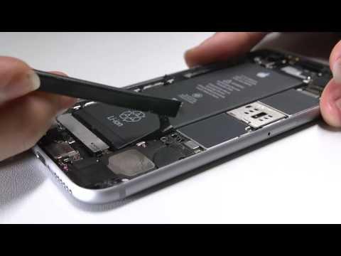 Wie wechselt man ein iPhone 6S Akku Batterie