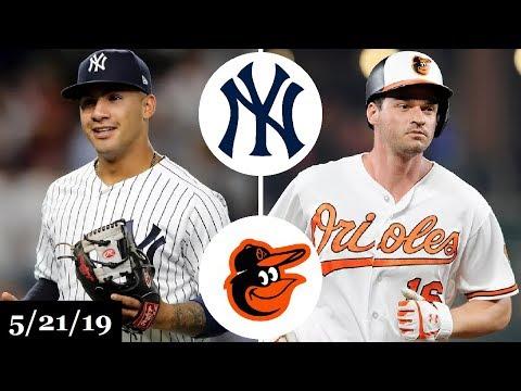 New York Yankees vs Baltimore Orioles - Full Game Highlights | May 21, 2019 | 2019 MLB Season