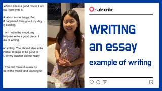 Writing   how to write   2nd grader   영어로글쓰기