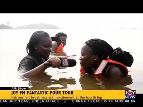 Joy FM Fantastic Four Tour - AM Show on JoyNews (2-4-18)