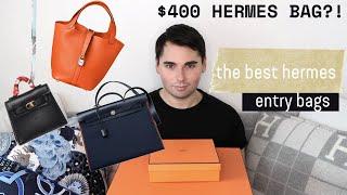 BEST HERMES ENTRY-LEVEL BAGS UNDER $3,000 | HERMES VANITY CASE BAG UNDER $400!!