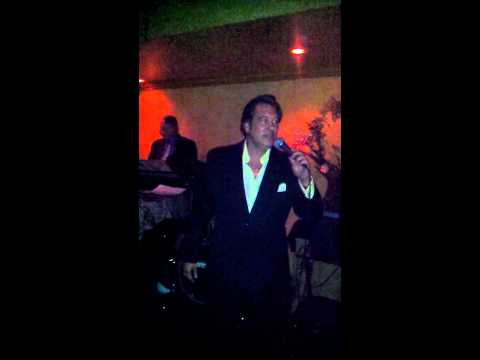 Craig Canter at Pieros Italian restaurant with live band