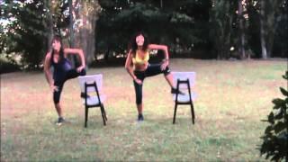 preview picture of video 'Zumba Sentao por Zumba en Junin (Instructora Silvina Flores)'