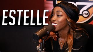 "Estelle calls Twerking ""being African"" + talks new scarf line on The Angie Martinez Show"