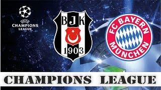 Бешикташ - Бавария, Прогноз на матч, Лига Чемпионов, ответный матч 1/8