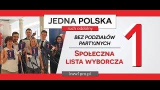 1. Konferencja prasowa KWW 1Polska – Ruch Oddolny, 20.08.2019, Warszawa