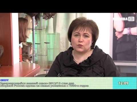 Выбираем парики. Репортаж для ТВ. Москва