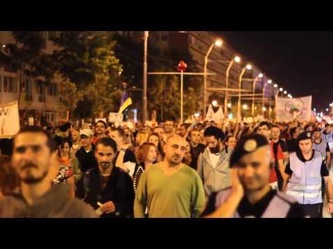 """Protest """"Salvaţi Roşia Montană"""" 15 septembrie"""