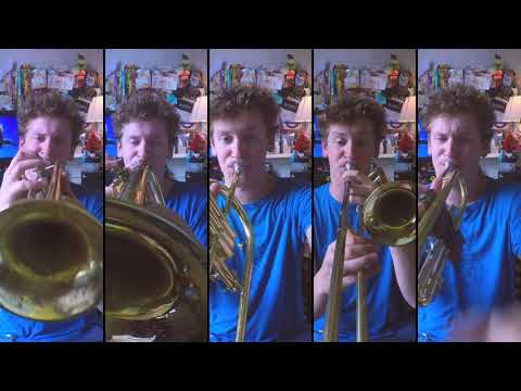 Panic! At the Disco - High Hopes for Brass Quintet with sheet music