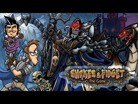 Shakes & fidget : Silvestrovské zabíjaničko podzemiek !! LOVE YOU ALL