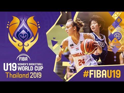 Hungary v Korea - Full Game - FIBA U19 Women's Basketball World Cup 2019