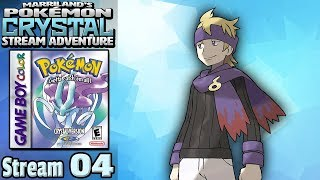 Marriland's Pokémon Crystal Adventure • Stream #04 • Morty-fied!