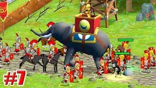 БОЕВЫЕ СЛОНЫ !!! Grow Empire Rome Игры на андроид Рим Империя Мультик Дети 7 серия
