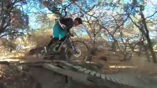 This is a video starting at the top of the fireroad and also has some of the backside of the park at Lagoon Valley/Peña Adobe Regional Park.
