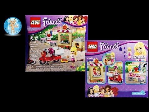 Vidéo LEGO Friends 41092 : La pizzeria de Stéphanie